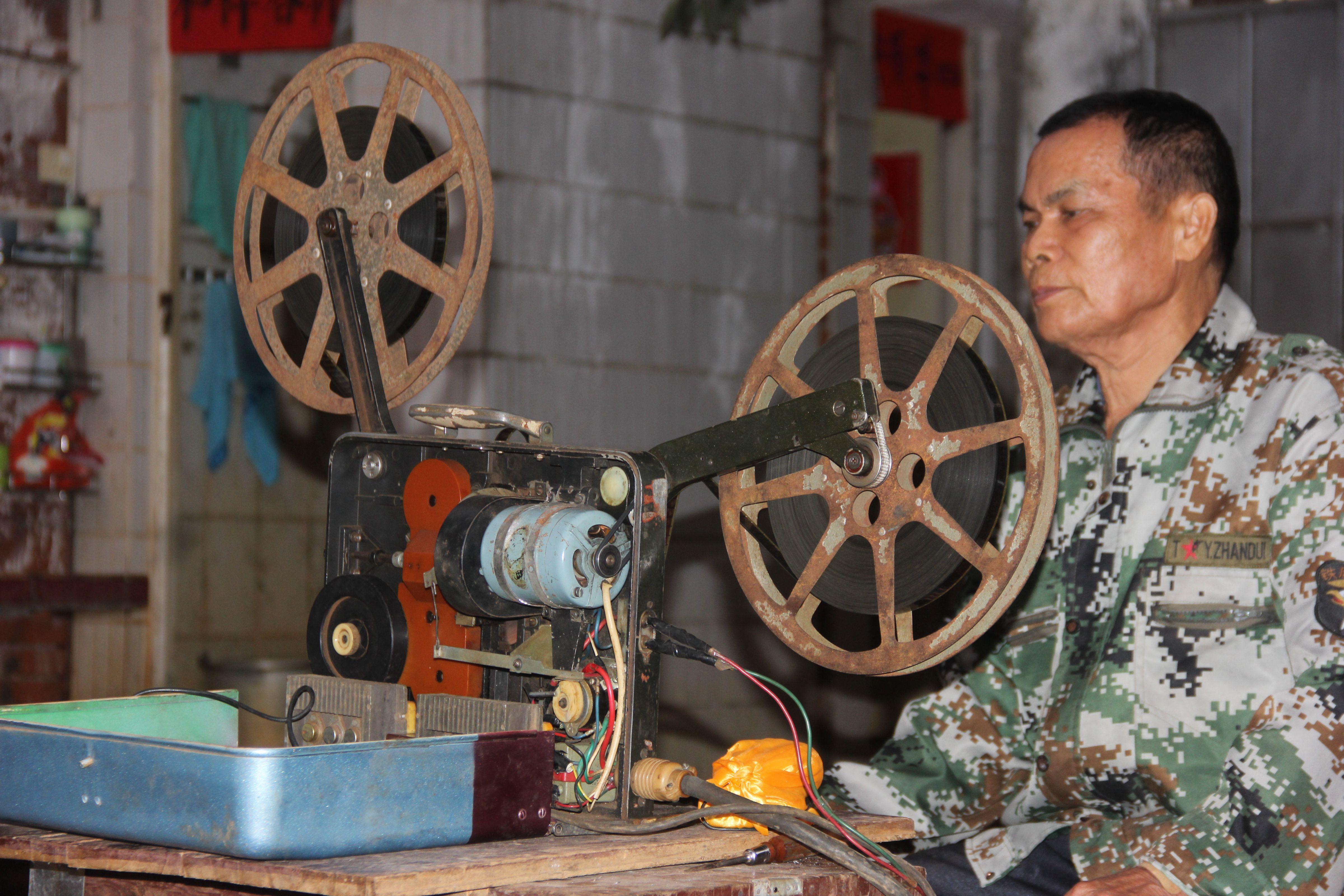 冯宏清:高级放映员,默默守候乡村电影传播廿八载